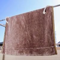 毛布の洗濯